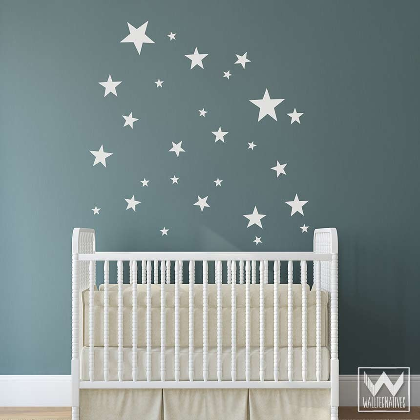 Nursery Wall Decals Stars