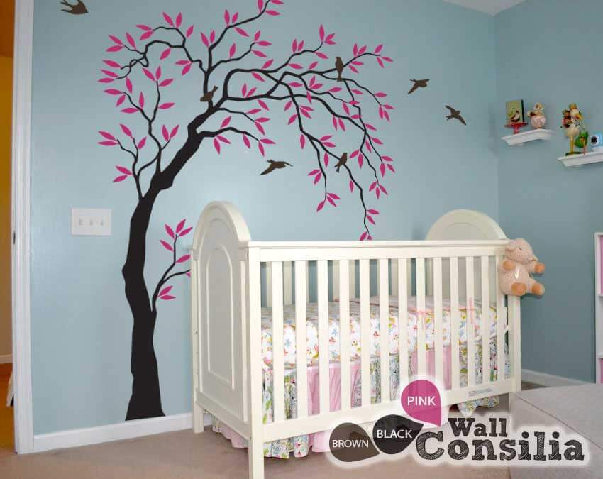 Nursery Wall Decals Tree