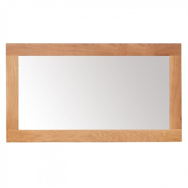 Oak Bathroom Mirror