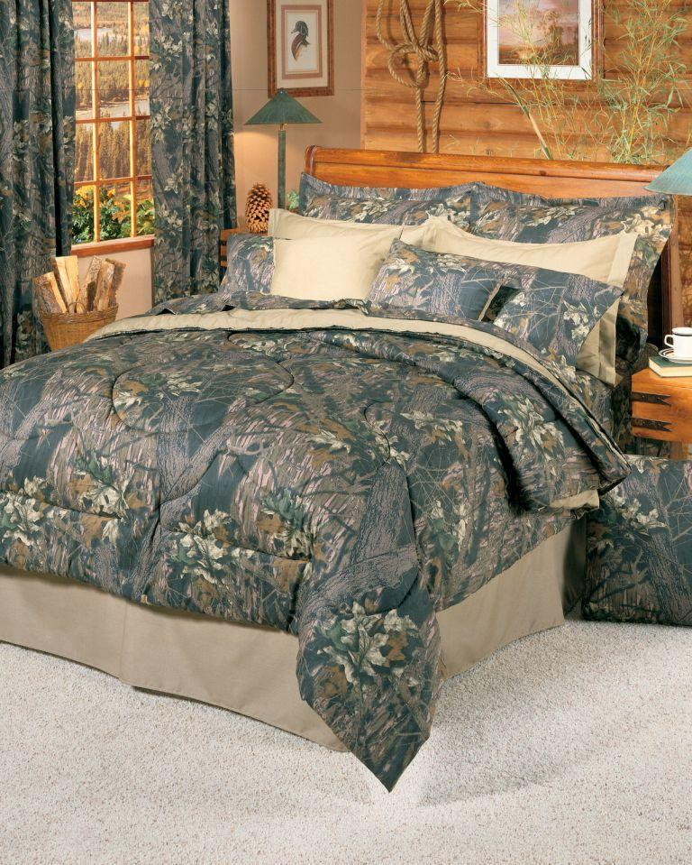 Oak Camo Comforter Set Queen