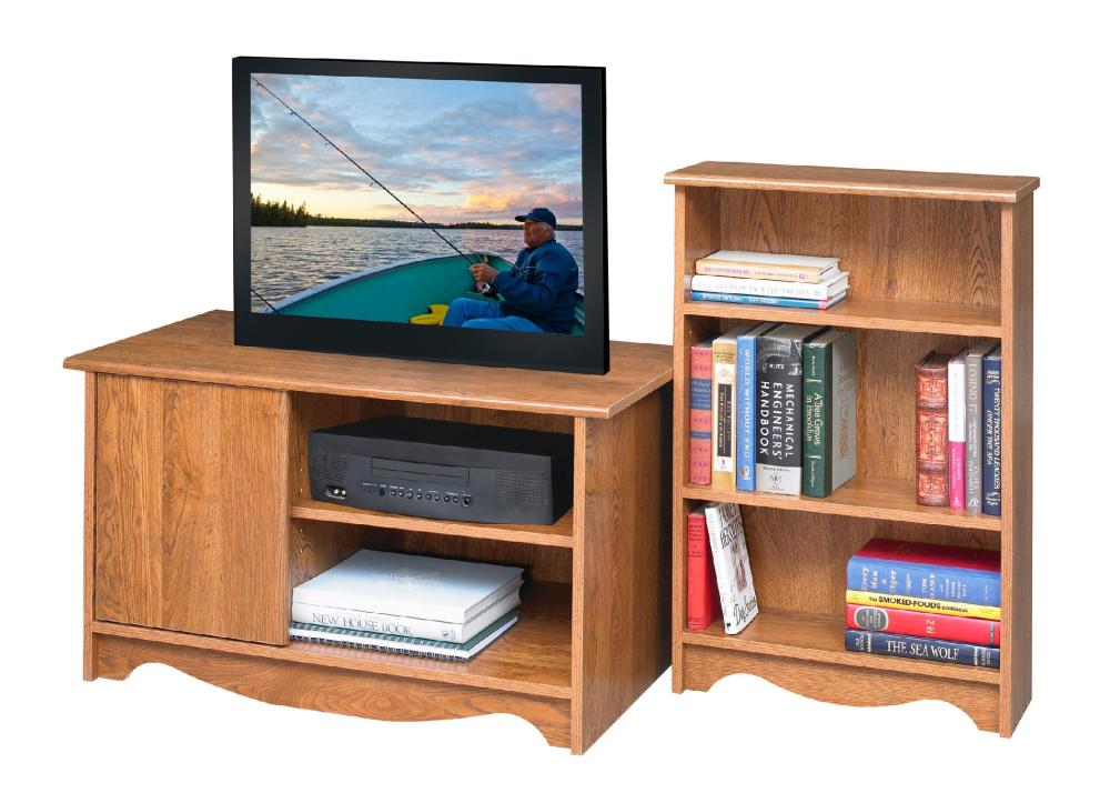 Oak Fireplace Tv Stand Combo