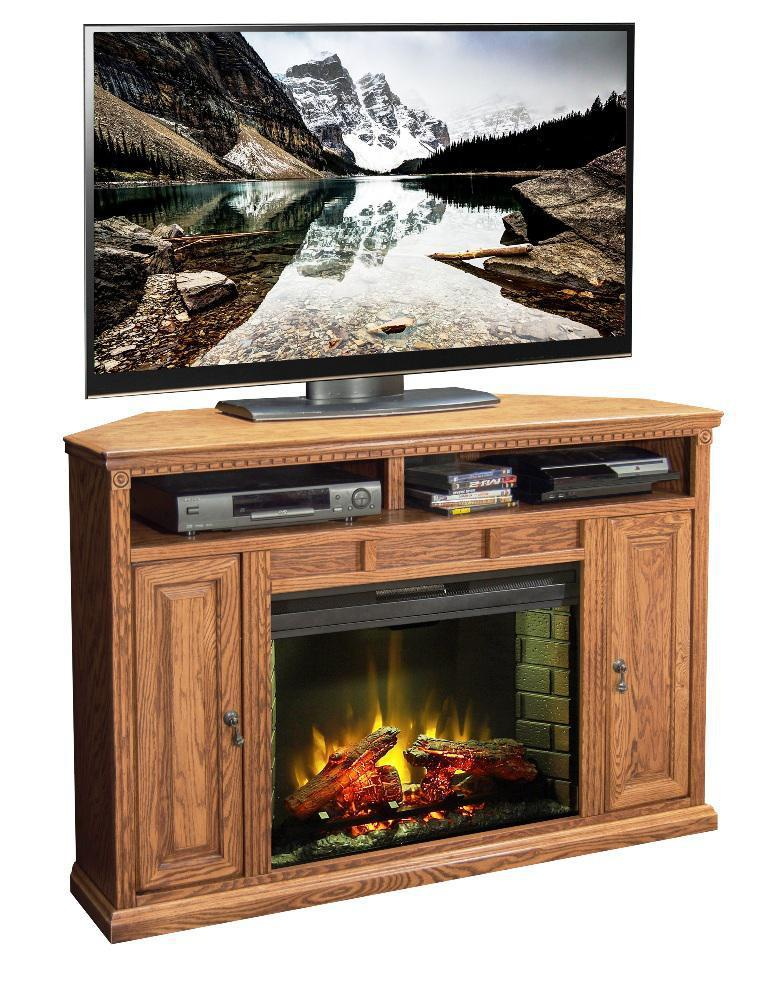 Oak Fireplace Tv Stand