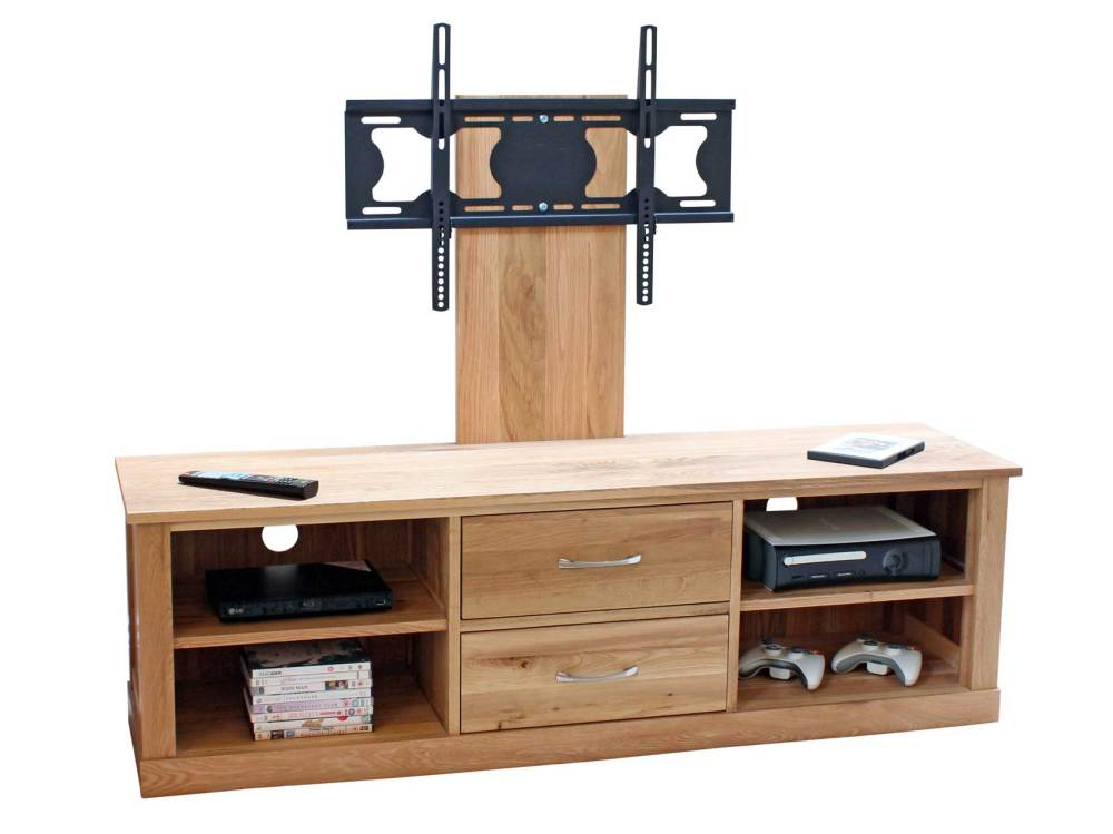 Oak Tv Stand With Mount