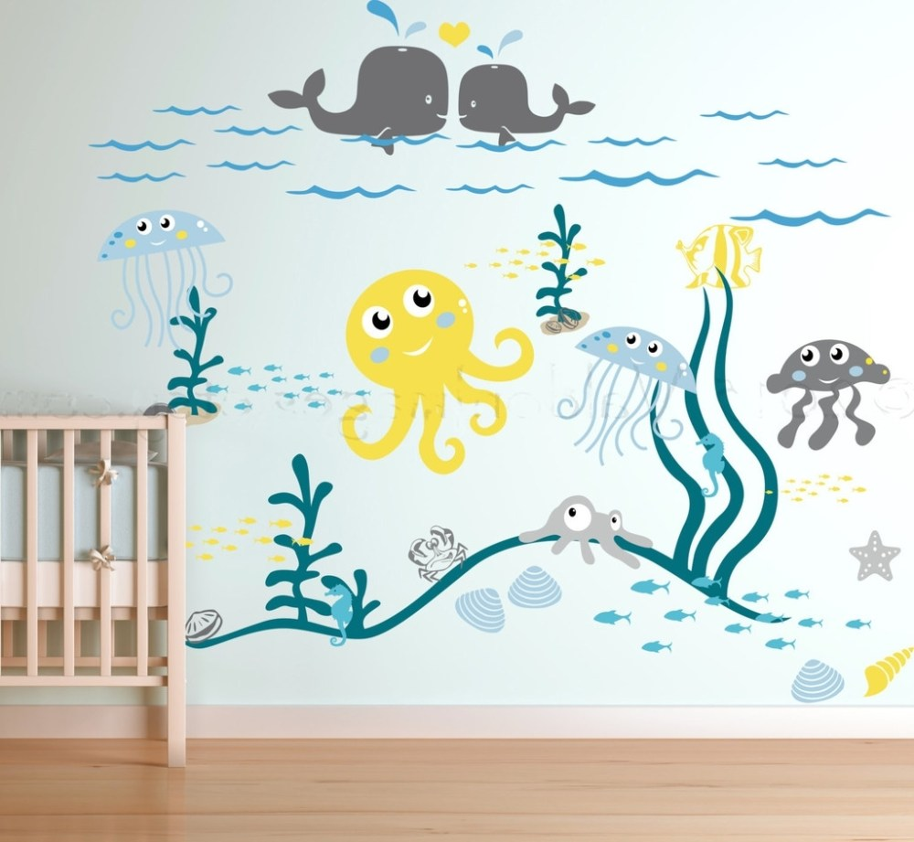 Ocean Life Wall Decals