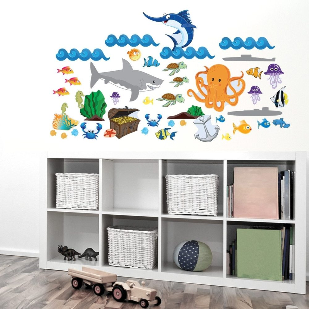 Ocean Themed Wall Decals