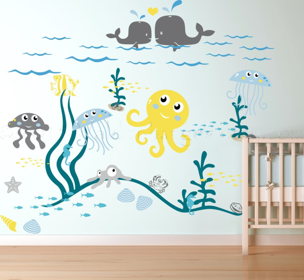 Ocean Wall Decals For Nursery