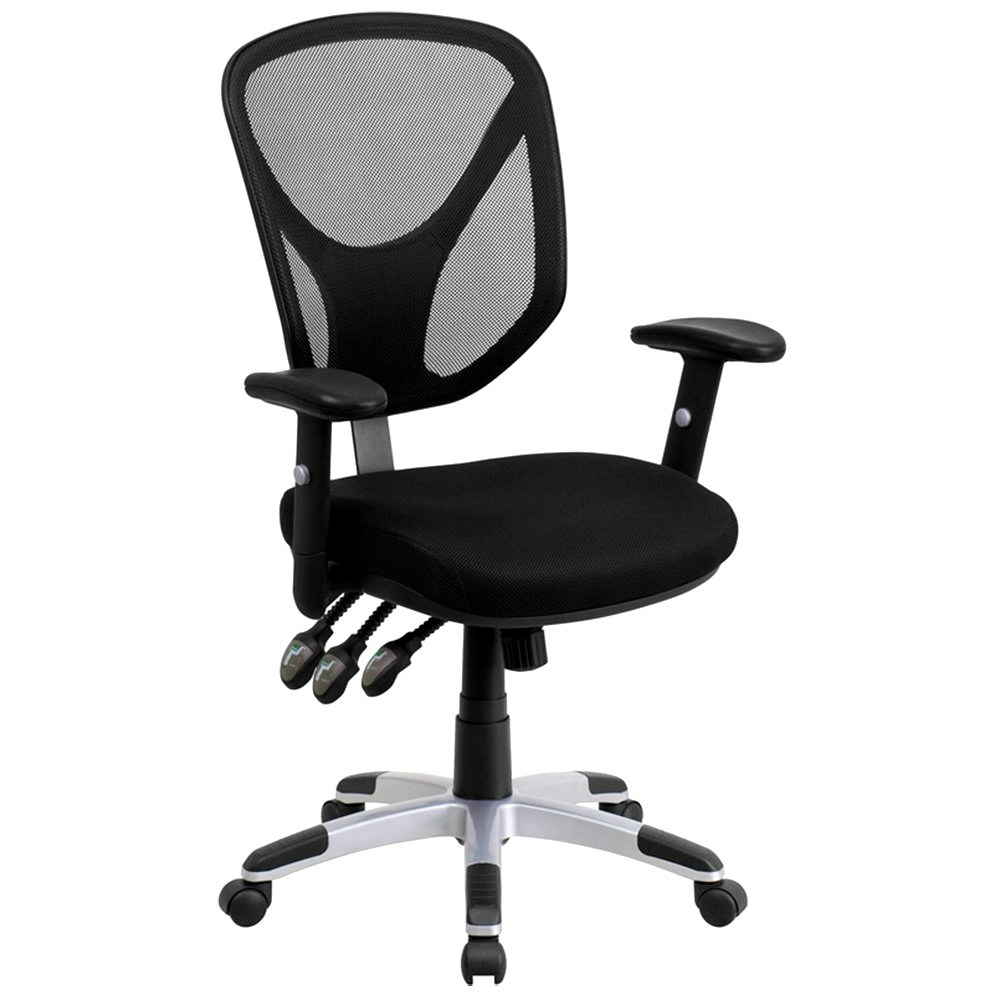 Office Chair Adjustable Arms