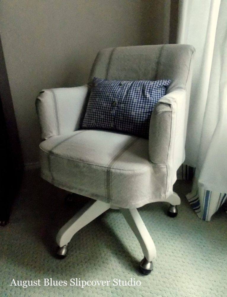 Office Chair Cover Diy