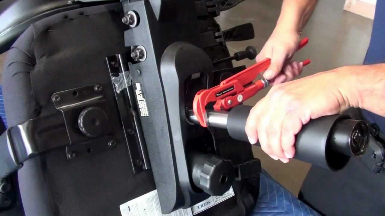 Office Chair Cylinder Removal