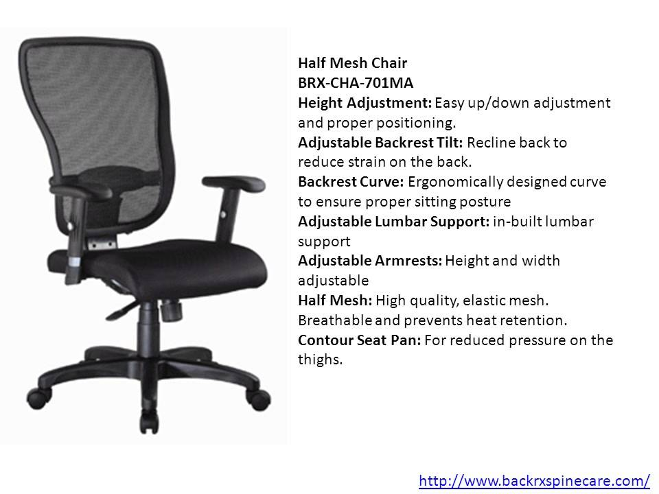Office Chair For Back Pain India