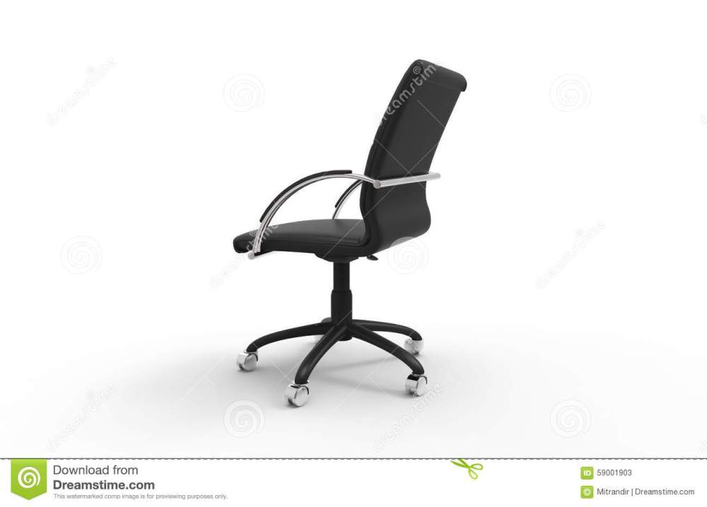 Office Chair Side View