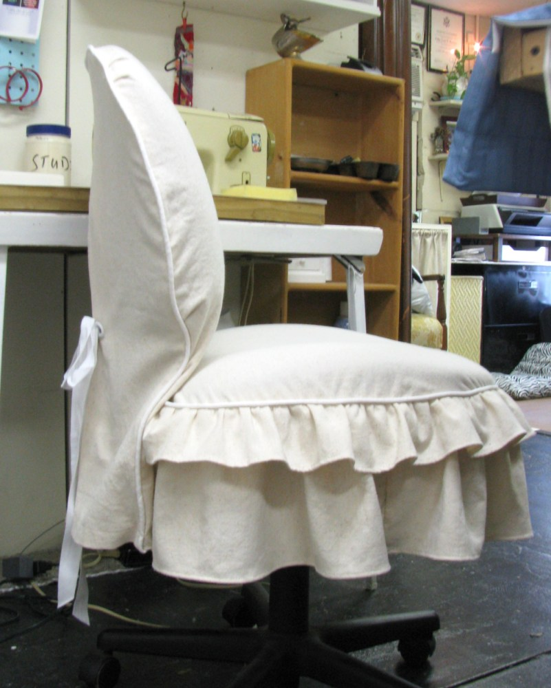 Office Chair Slipcover Diy