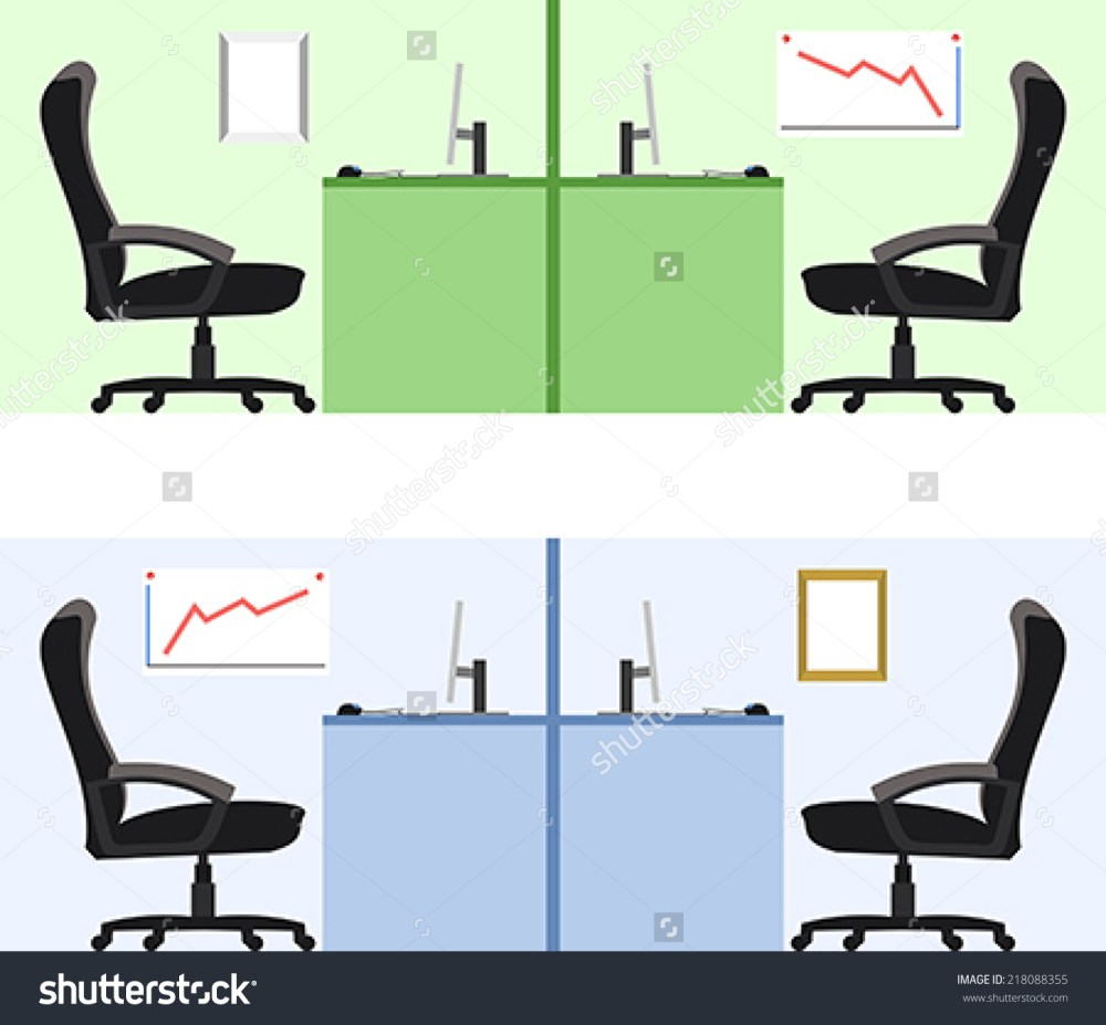 Office Chair Vector Side View