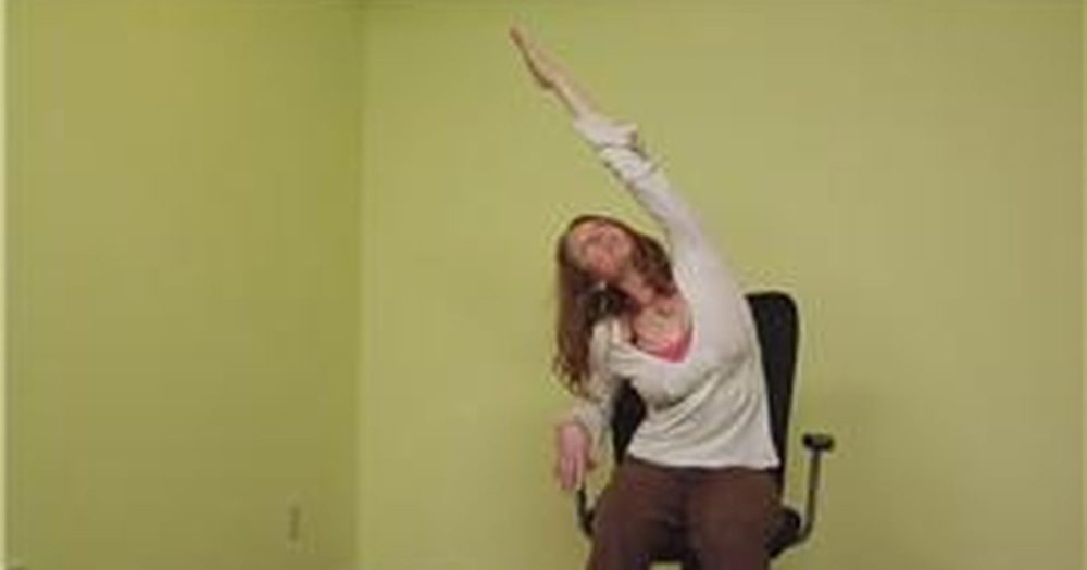Office Chair Yoga Stretches
