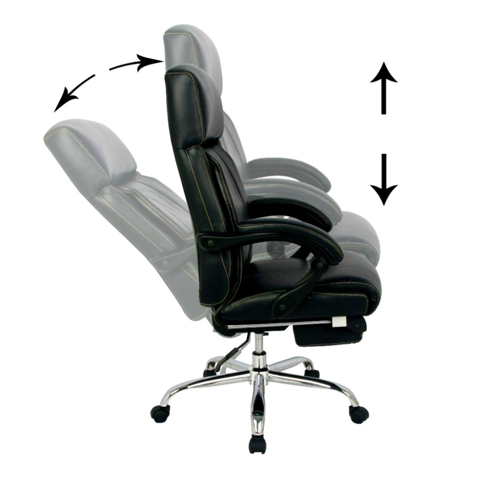 Office Recliner Chair Leather