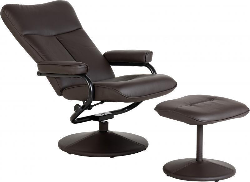 Office Recliner Chair With Footstool