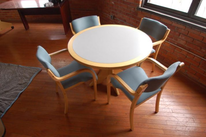 Office Table And Chairs Set