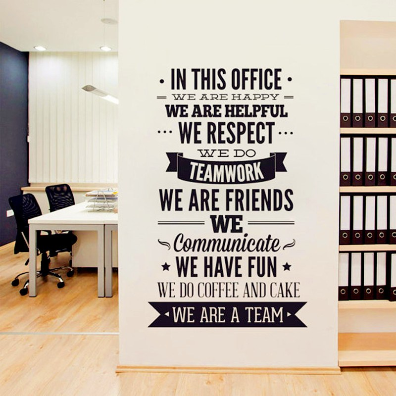 Office Wall Decal Quotes