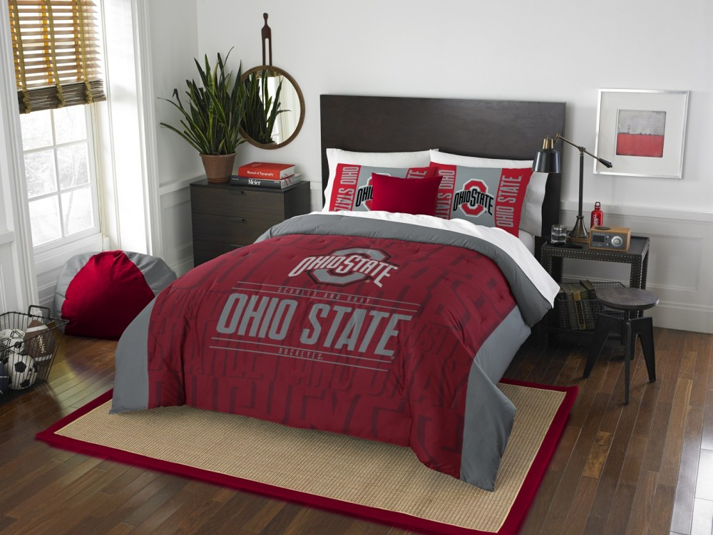 Ohio State Comforter Set Queen