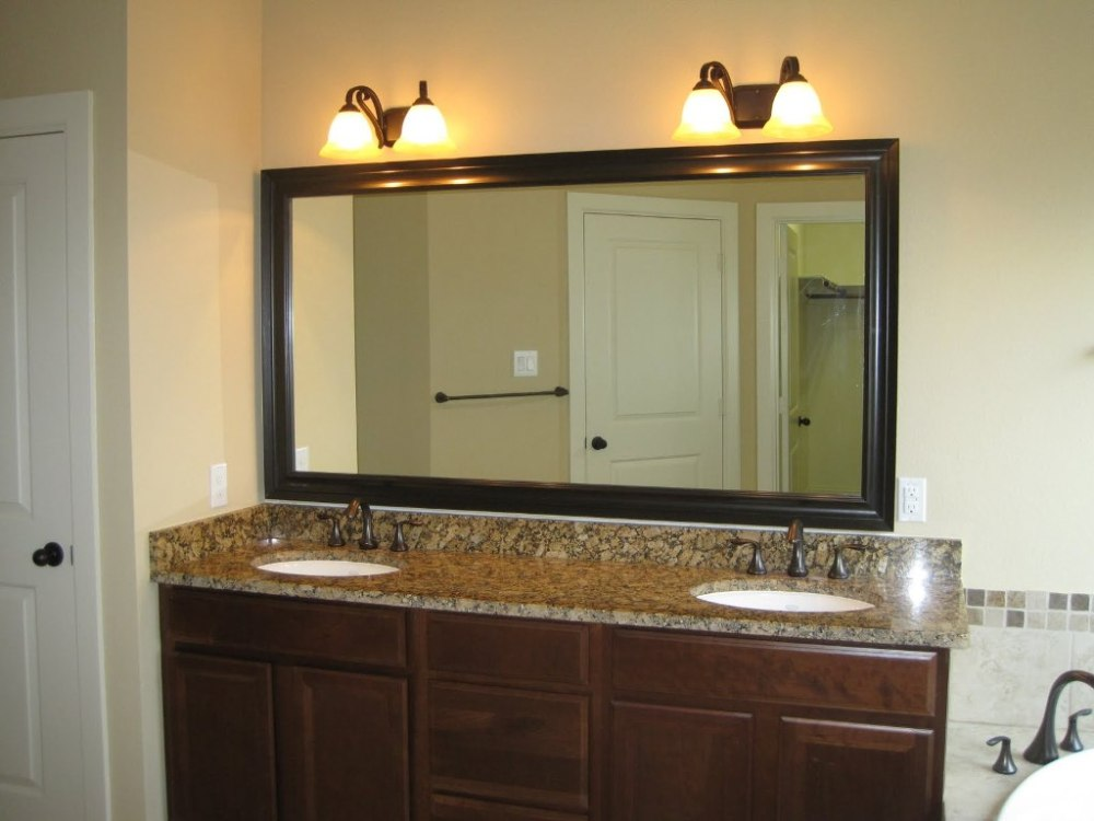Oil Rubbed Bronze Bathroom Mirror