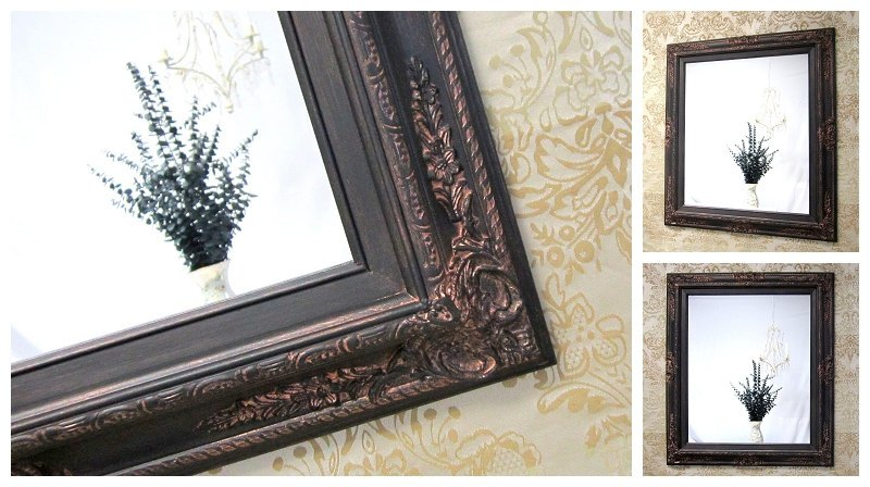 Oil Rubbed Bronze Bathroom Mirrors