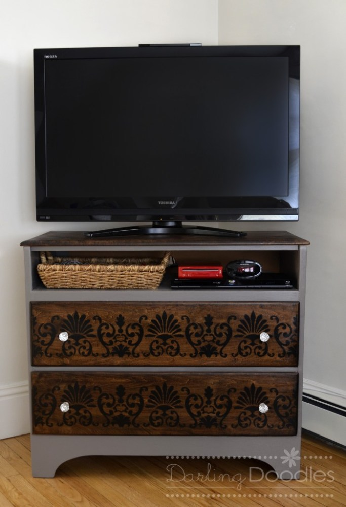 Old Tv Stand Repurposed