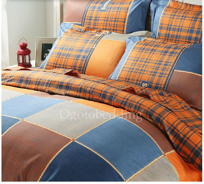 Orange Queen Size Comforter Sets