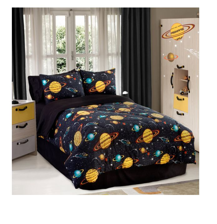 Outer Space Bedding For Kids