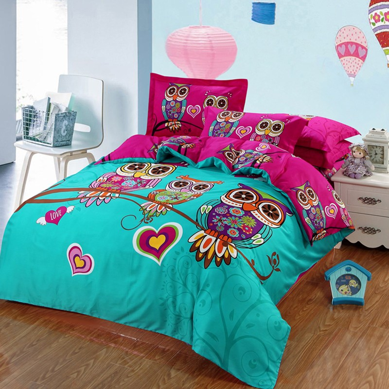 Owl Comforter Set Full