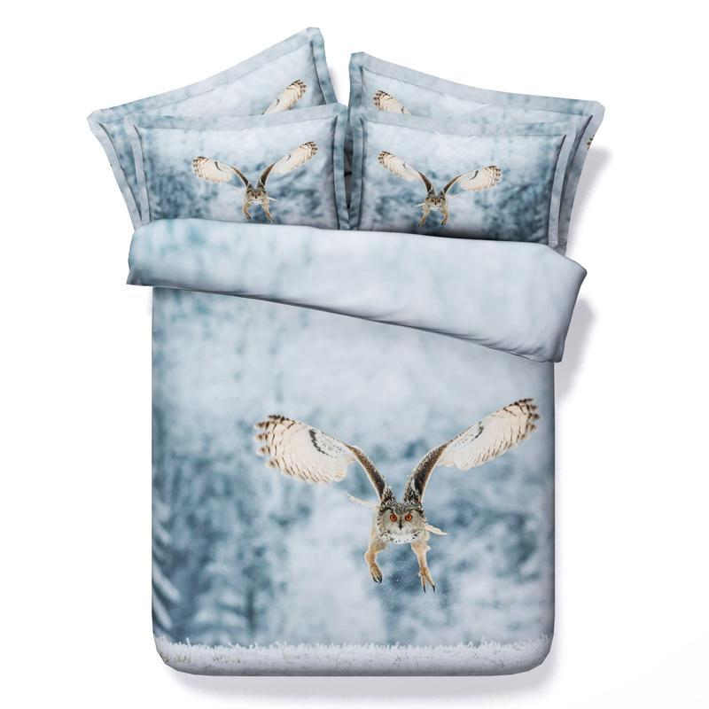Owl Comforter Set King