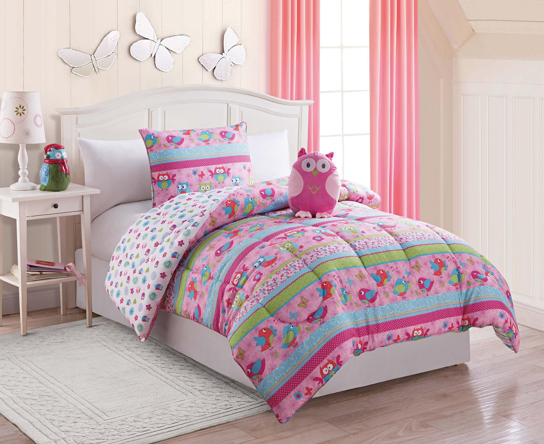 Owl Comforter Set Twin