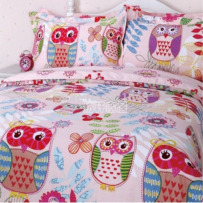 Owl Kids Bedding