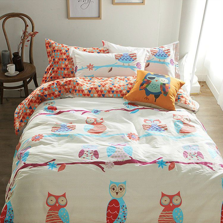 Owl Queen Comforter Set