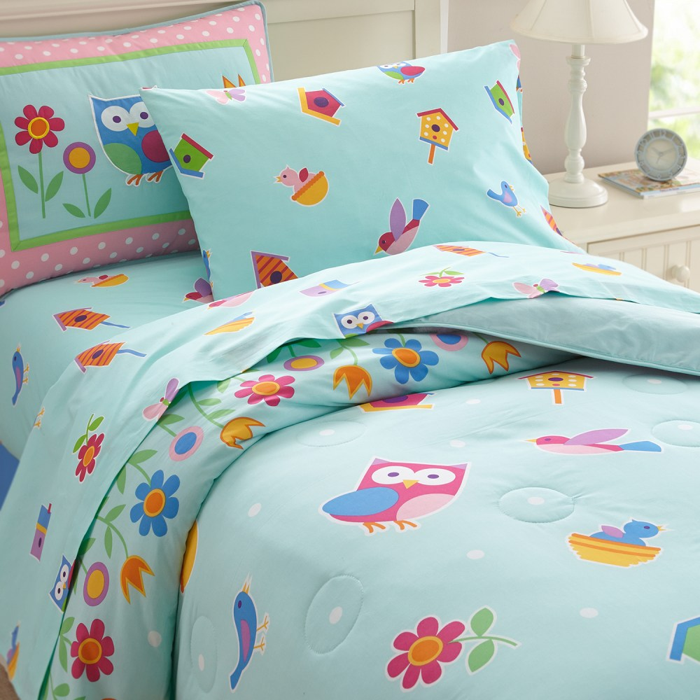 Owl Twin Comforter Set