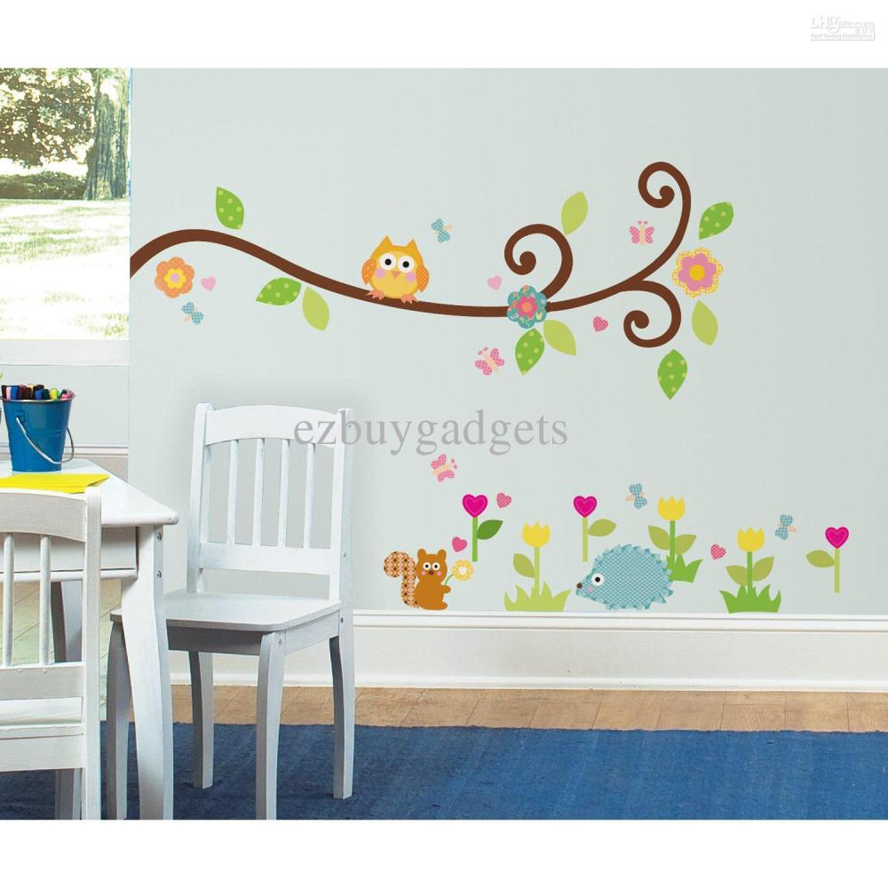 Owl Wall Decals For Kids Rooms