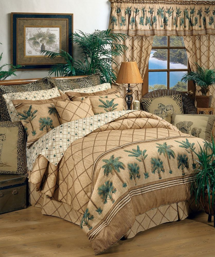 Palm Tree Comforter Set