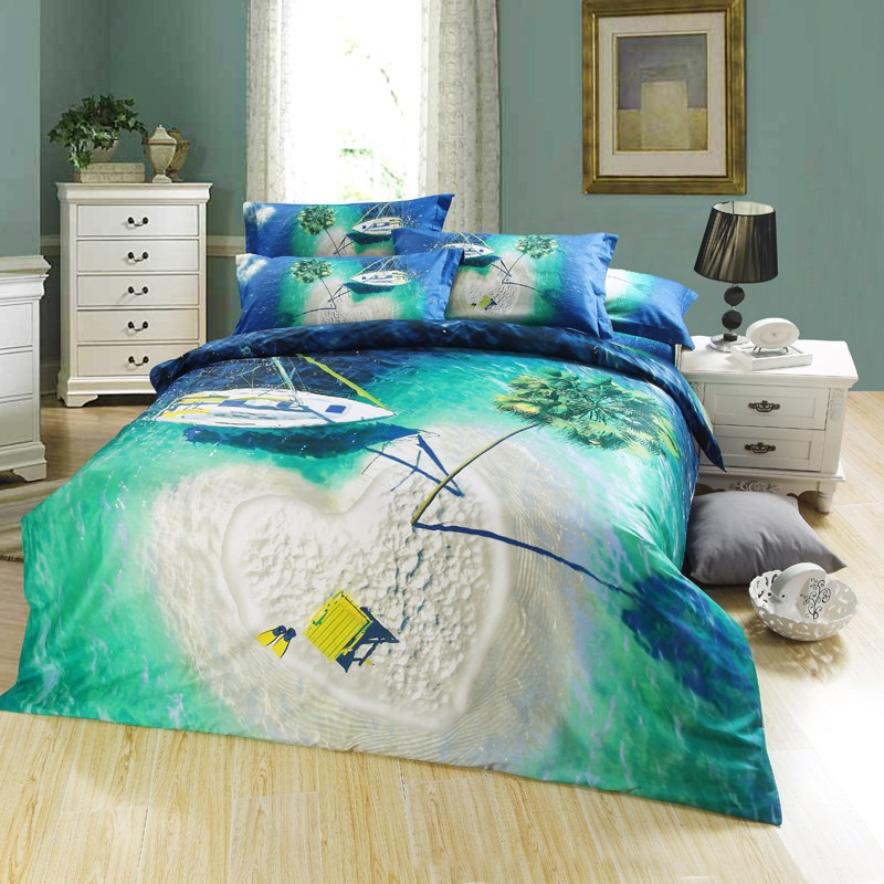 Palm Tree Comforter Sets Queen