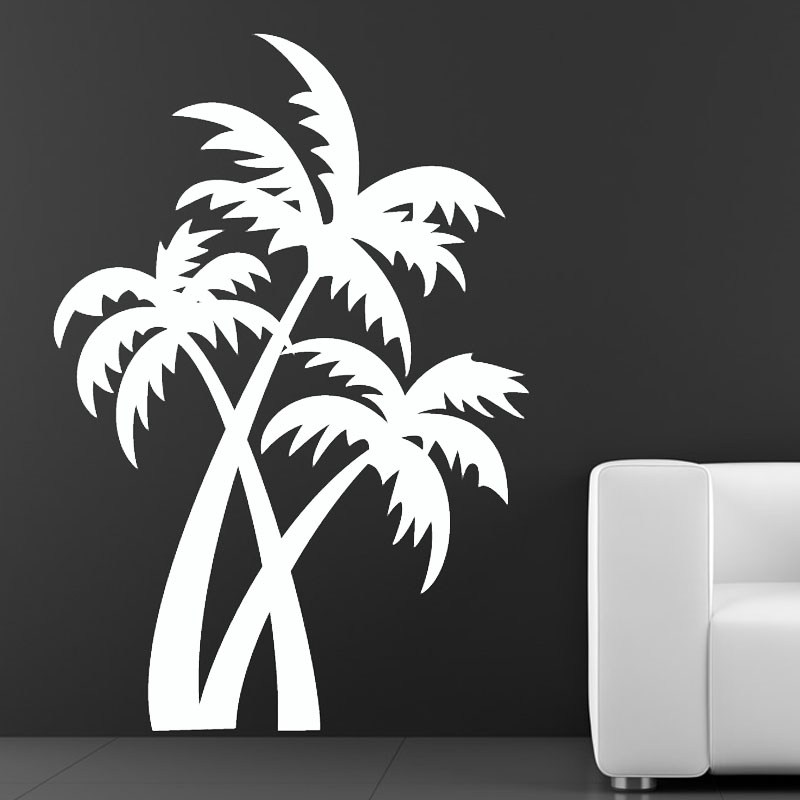 Palm Tree Wall Decals For Nursery
