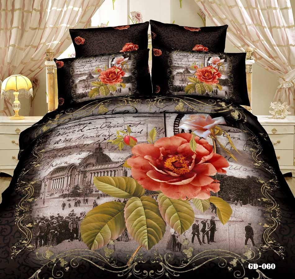 Paris King Size Comforter Set