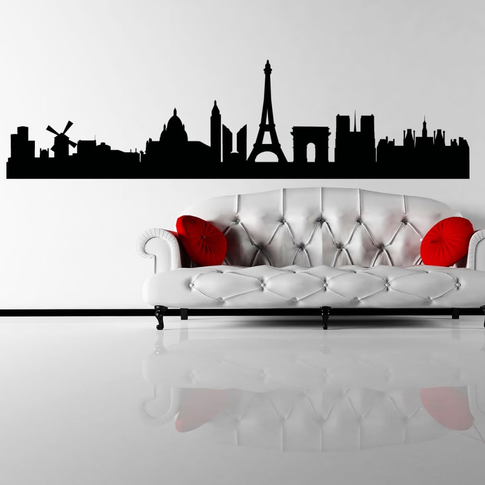 Paris Wall Decals For Girls