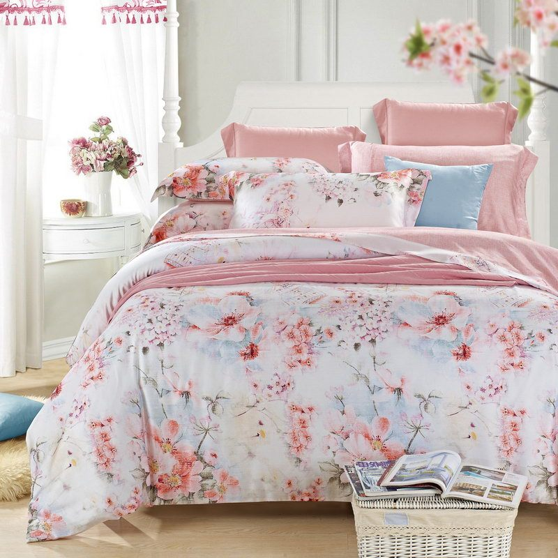 Peach Colored Comforter Sets