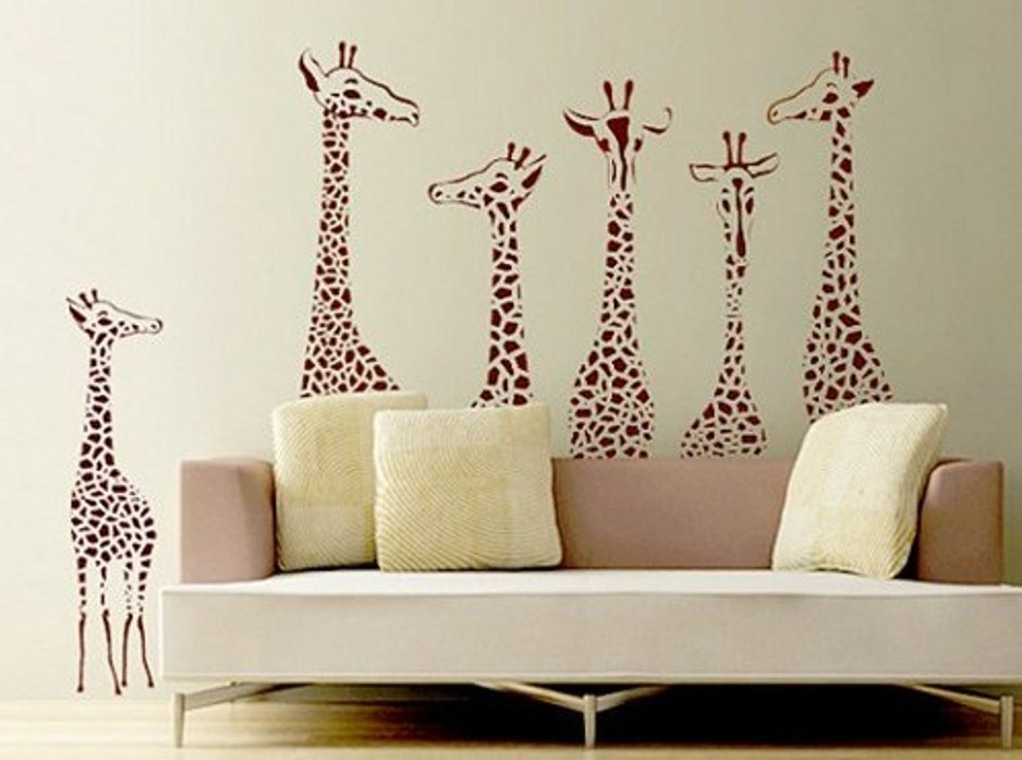Peel And Stick Wall Decals For Living Room