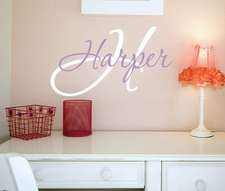 Personalized Baby Name Wall Decals