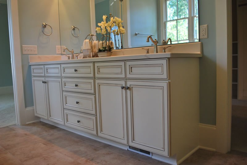 Pictures Of Bathroom Cabinets Painted