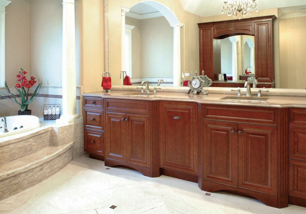 Pictures Of Bathroom Cabinets