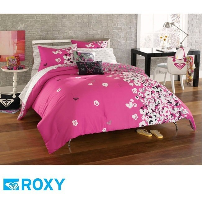 Pink And Black Comforter Sets