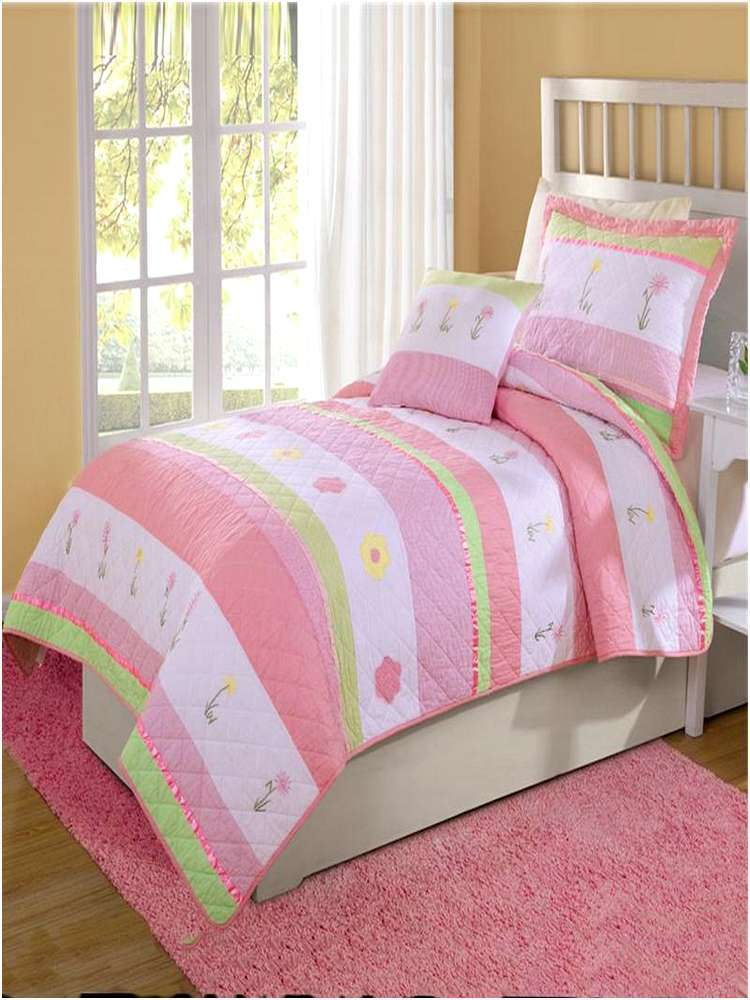 Pink And Green Comforter Sets