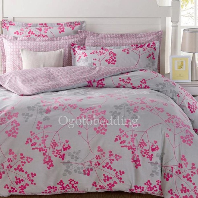 Pink And Grey Comforter Sets