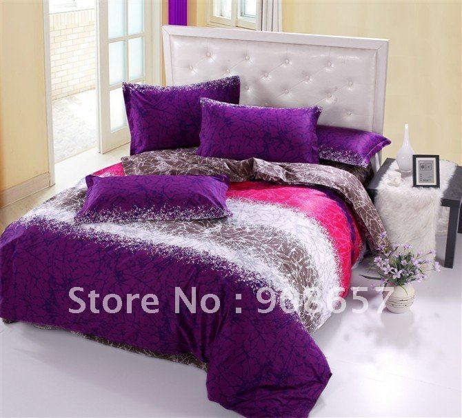 Pink And Purple Comforter Sets