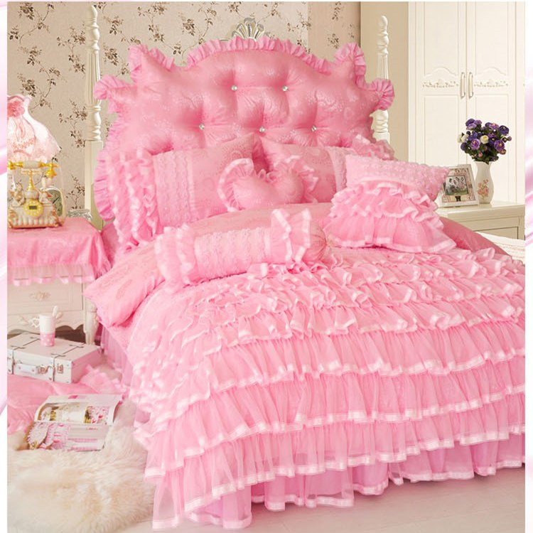 Pink And Purple Twin Comforter Set